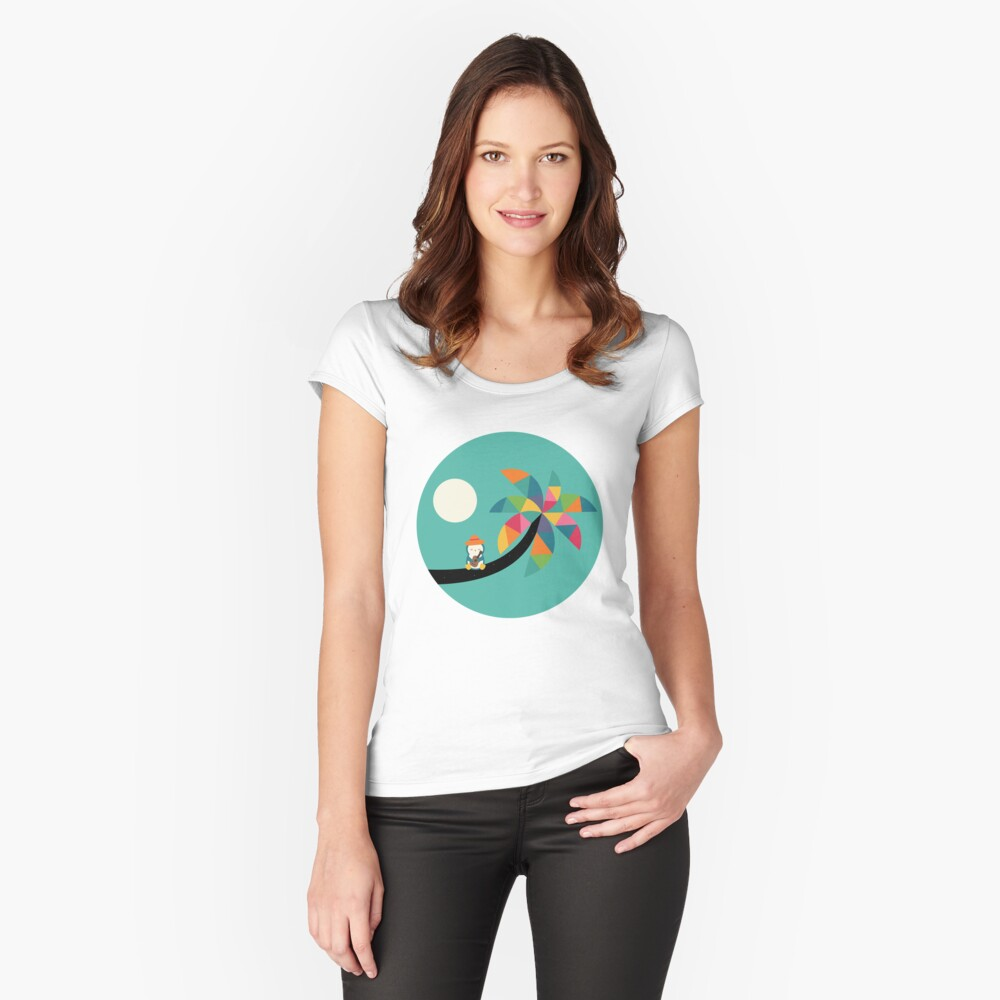 Amazing Vocation Women's Fitted Scoop T-Shirt Front