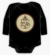 Hindu, Hinduism, Ganesh T-Shirt One Piece - Long Sleeve
