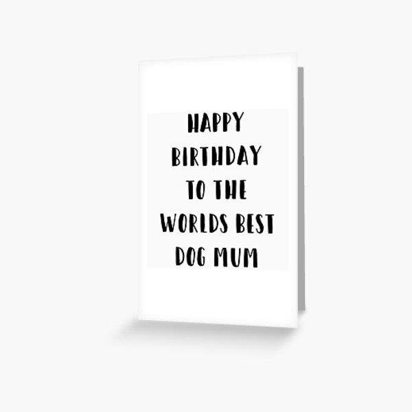 Dog Birthday Card Greeting Card