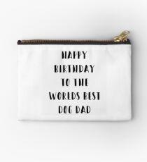 Dog Birthday Card Studio Pouch