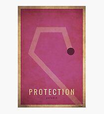 Protection Paladin - WoW Minimalism Photographic Print