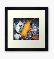 Gods of Thunder Framed Print