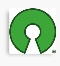 Open Source Logo Canvas Print