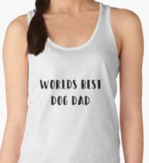 Worlds best dog dada Women's Tank Top
