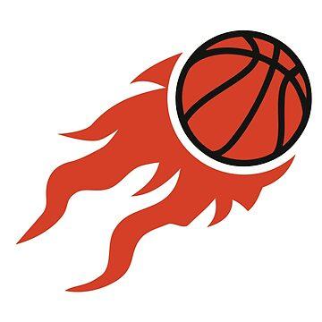 Basketball fire by Designzz
