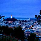 San Francisco Evening by justminting