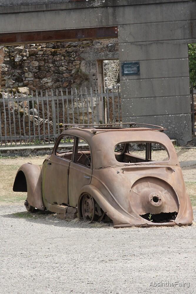Citroen in the road by AbsintheFairy
