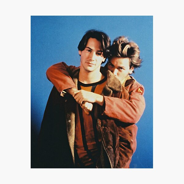 River and Keanu Photographic Print