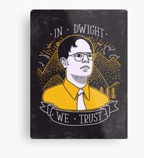 Dwight Schrute Metal Print