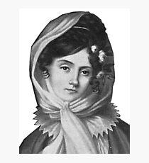 Maria Szymanowska - Brilliant Composer and Pianist Photographic Print
