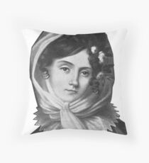 Maria Szymanowska - Brilliant Composer and Pianist Throw Pillow