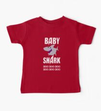 Camiseta para bebés Baby Shark