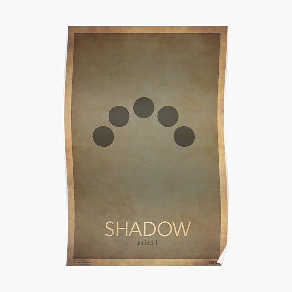 Shadow Preist - WoW Minimalism Poster