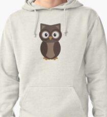 Woodland Owl Pullover Hoodie