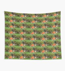 The Grass Is Greener on the Other Side Wall Tapestry