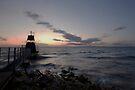 Portishead Lighthouse by Nigel Bangert