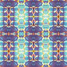 Abstract monotype  by LucyBrydonArt
