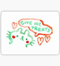 GIVE ME TREATS Sticker