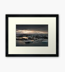 Glacier Lagoon August 2009 #3 Framed Print