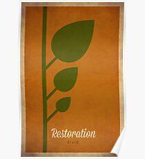 Restoration Druid - WoW Minimalism Poster