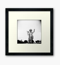 Stone Angel Framed Print