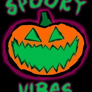 Spooky Vibes Pumpkin by GrimDork