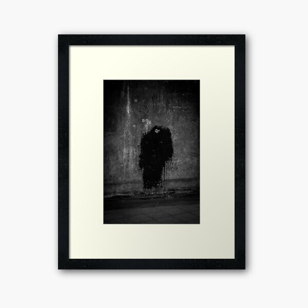 The lonely one Framed Art Print