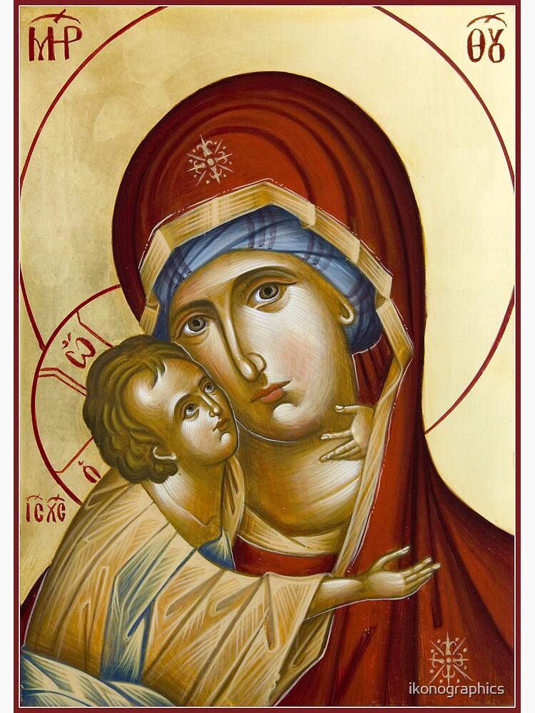 Theotokos by ikonographics
