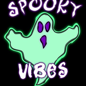 Spooky Vibes Ghost by GrimDork