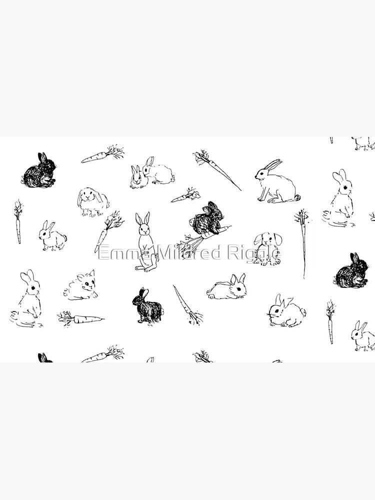 Bunnies & Carrots Pattern by gentlecounsel