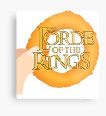 Lorde of the Rings Metal Print