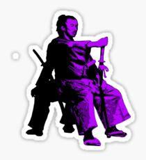 Odd Samurai - sword master - quotes - katana Sticker