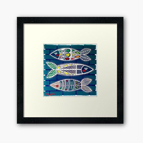Sardines 1 Framed Art Print