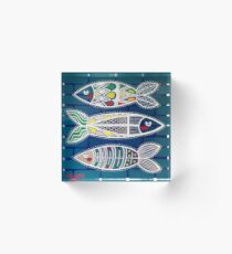 Sardines 1 Acrylic Block