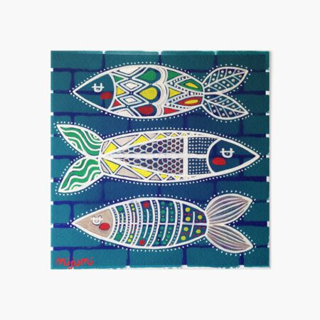 Sardines 1 Art Board Print