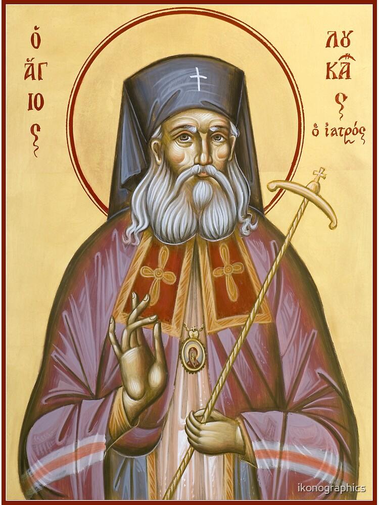 St Luke the Surgeon of Simferopol by ikonographics