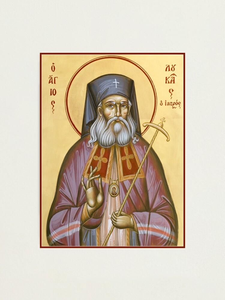Alternate view of St Luke the Surgeon of Simferopol Photographic Print