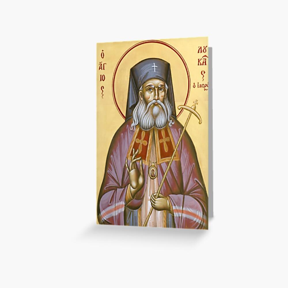 St Luke the Surgeon of Simferopol Greeting Card