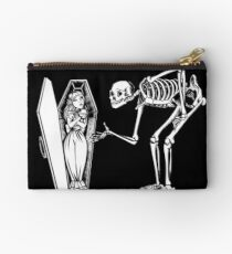 Skeleton Welcome Studio Pouch