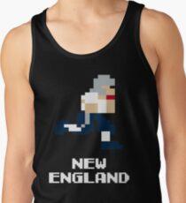 8 bit New England Football 1 Tank Top