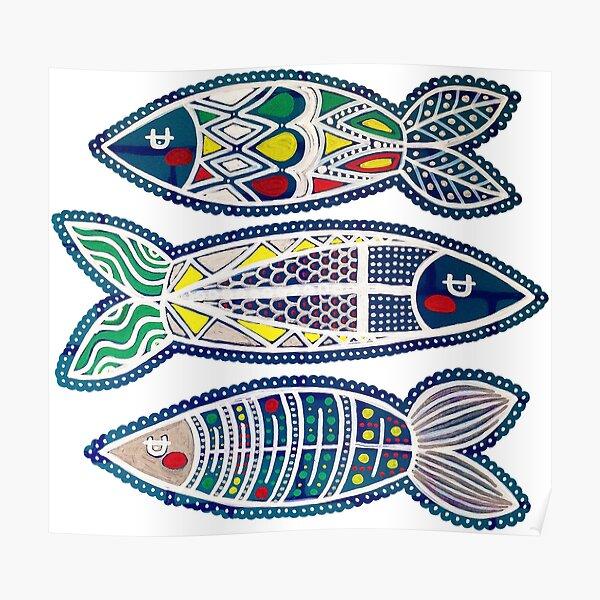 Three Sardines 1 Poster