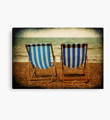 British Bank Holiday Canvas Print