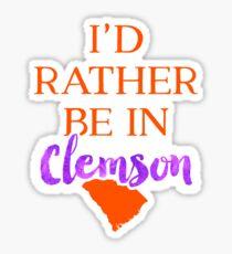 Clemson University - Style 8 Sticker