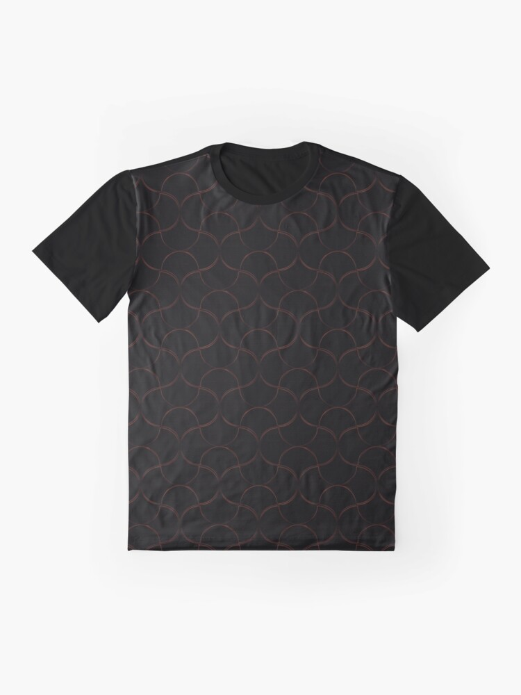 Alternate view of Oh Gee! Fire Graphic T-Shirt