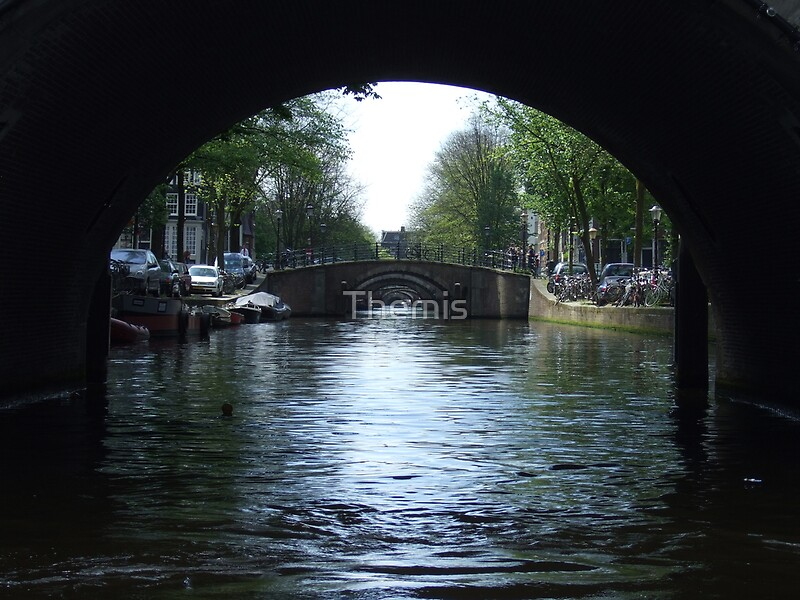 Seven Bridges In A Row Amsterdam By Themis Redbubble