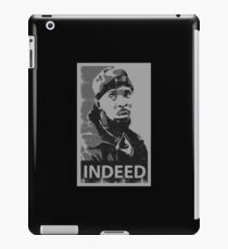 Omar Indeed iPad Case/Skin