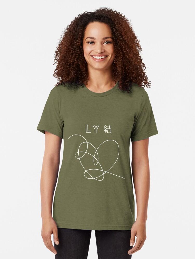 Alternative Ansicht von BTS Liebe dich selbst Antwort Vintage T-Shirt
