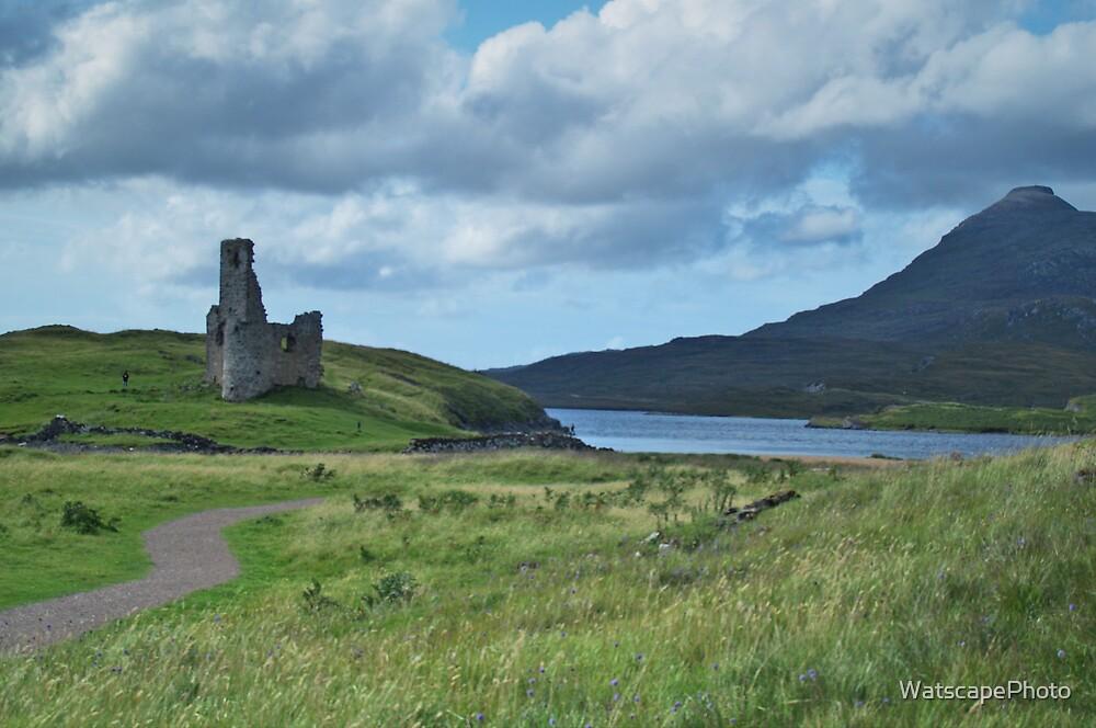 Ardvreck Castle by WatscapePhoto