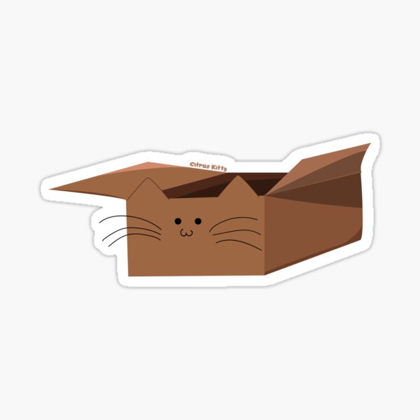 Catbox Sticker Sticker