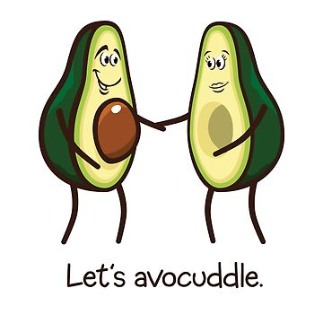 Let's Avocuddle by poomshanka